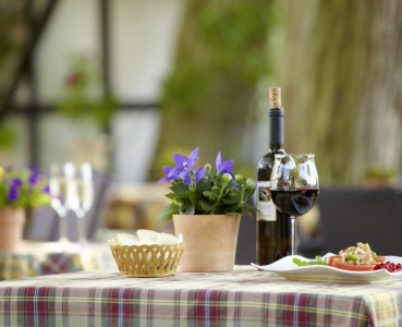 Restaurant - Biergarten - mit herrlichem Ausblick: Bella Vista
